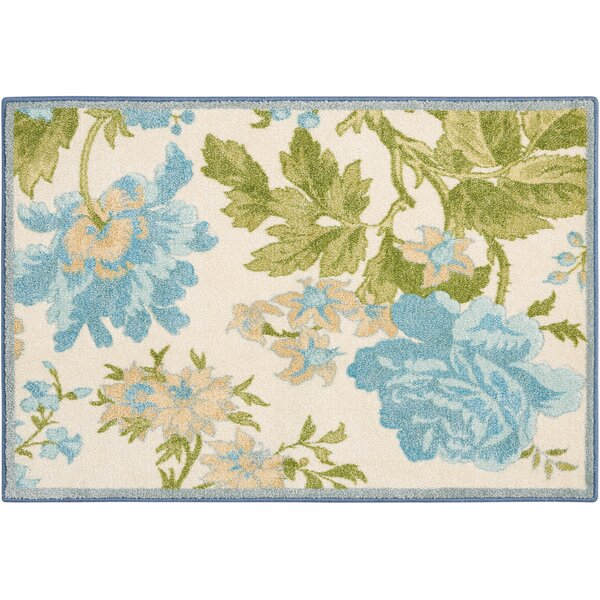 Great Expectation Blue Area Rug by Waverly
