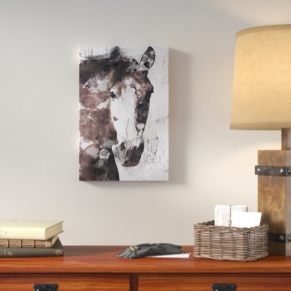 Gorgeous Horse IV Graphic Art on Wrapped Canvas by Loon Peak