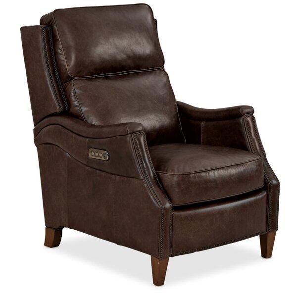 Weir Leather Power Recliner by Hooker Furniture Hooker Furniture