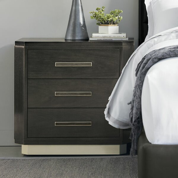 3 Drawer Nightstand by Caracole Modern