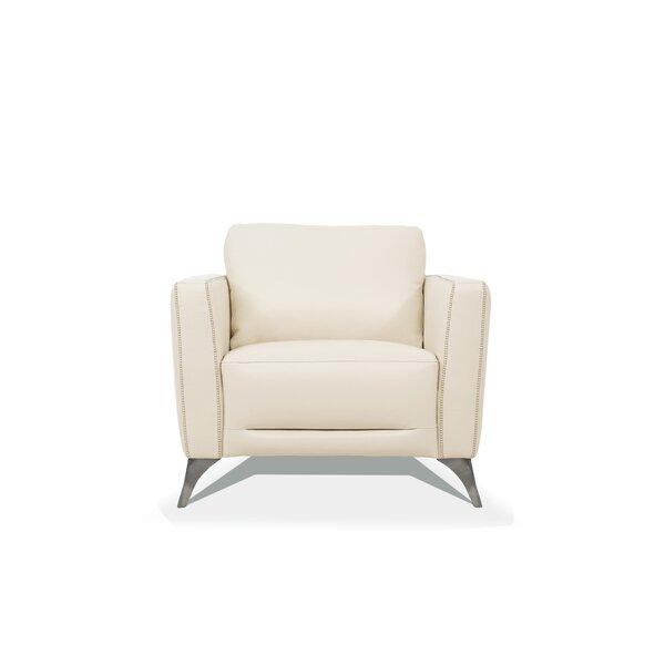 Rizzo Leather Armchair by Corrigan Studio Corrigan Studio