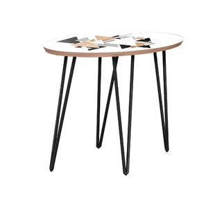Uptal End Table by Bungalow Rose