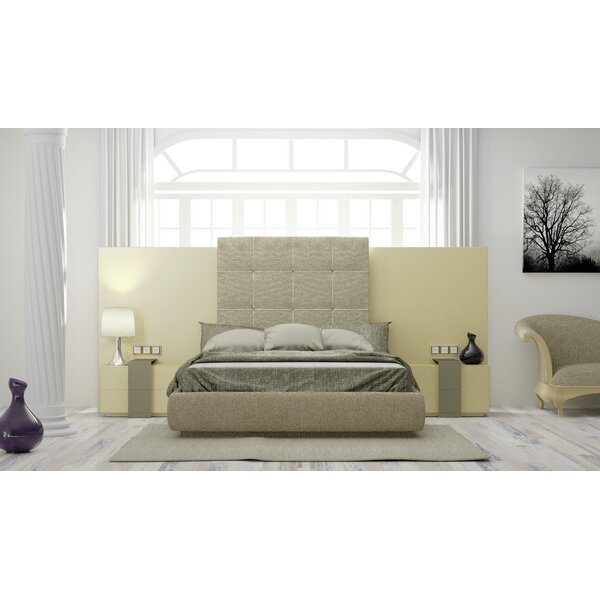 Matheson King Upholstered Standard Bed by Orren Ellis