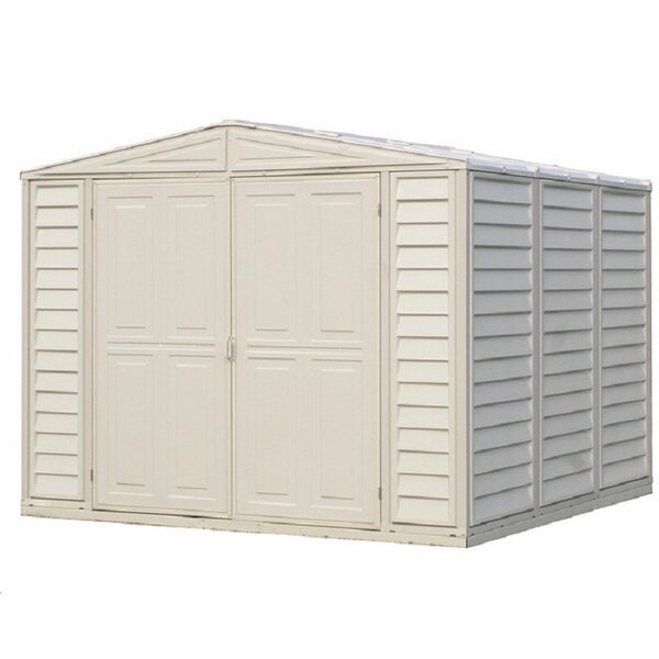 DuraMate 8 ft. W x 8 ft. D Plastic Storage Shed by Duramax Building Products