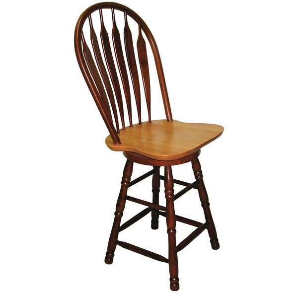 Banksville 30 Swivel Bar Stool by Loon Peak
