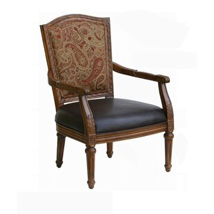 Madox Chenille Armchair by Astoria Grand