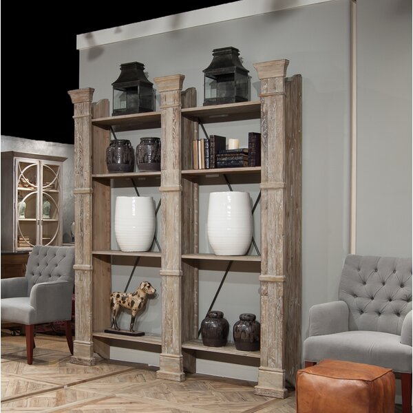 Pilaster Wall Etagere Bookcase by Sarreid Ltd