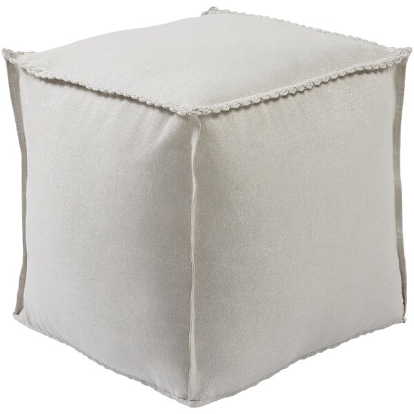 Millstadt Upholstered Pouf by Darby Home Co