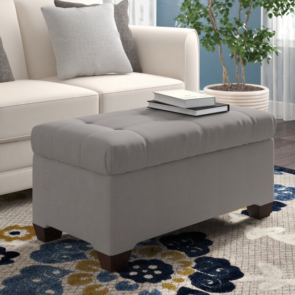 Stephanie Upholstered Storage Bench by Wayfair Custom Upholstery™