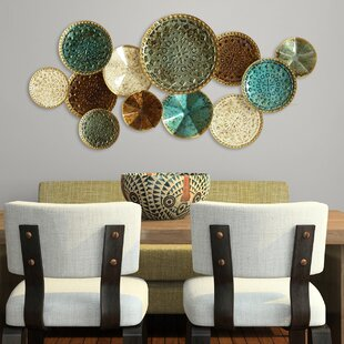 Multi Plates Wall Décor