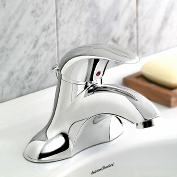 Reliant 3 Deck Centerset Mounted Bathroom Faucet by American Standard