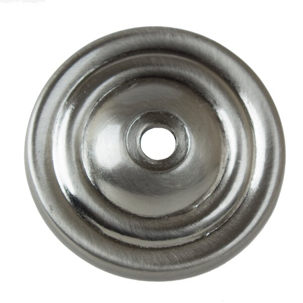 Round Thin Ring Cabinet Knob Backplate by GlideRite Hardware