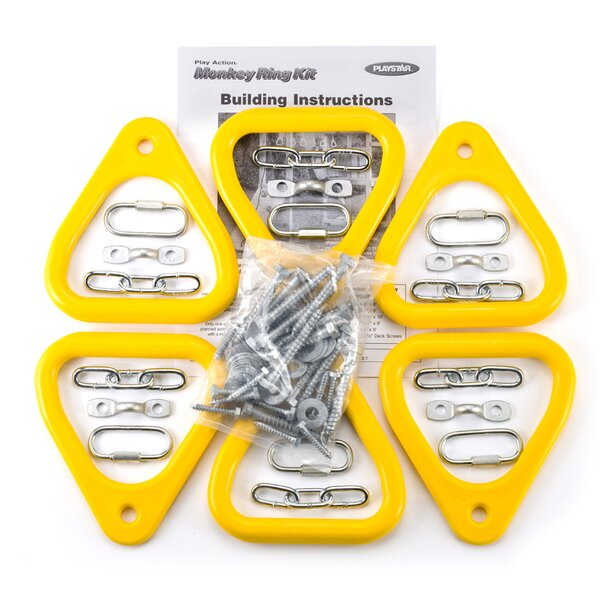 Add-on Kits Monkey Ring Kit (Set of 6) by Playstar Inc.
