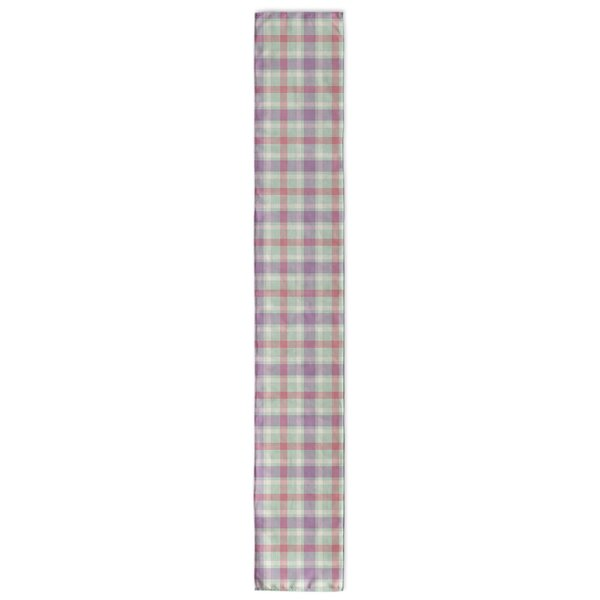 Malvina Plaid Table Runner by Latitude Run