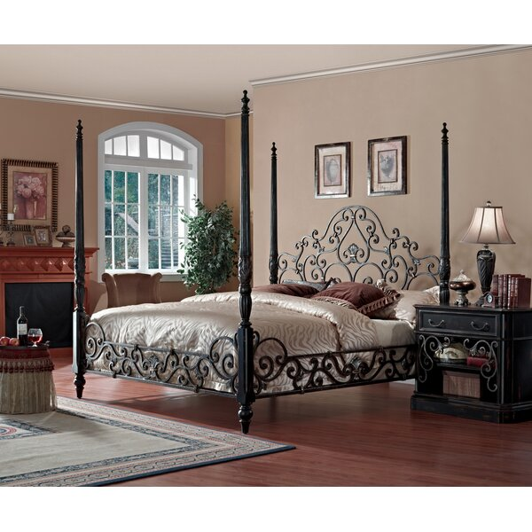 Sorrento Four Poster Configurable Bedroom Set by Eastern Legends