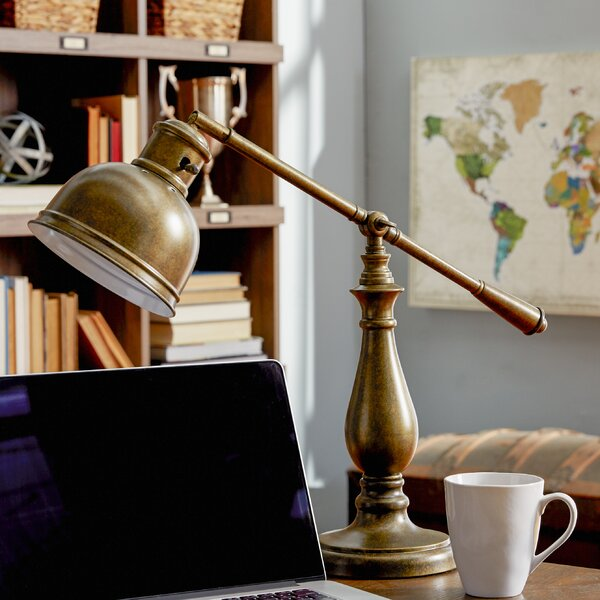 Malvern 20 Desk Lamp by Three Posts