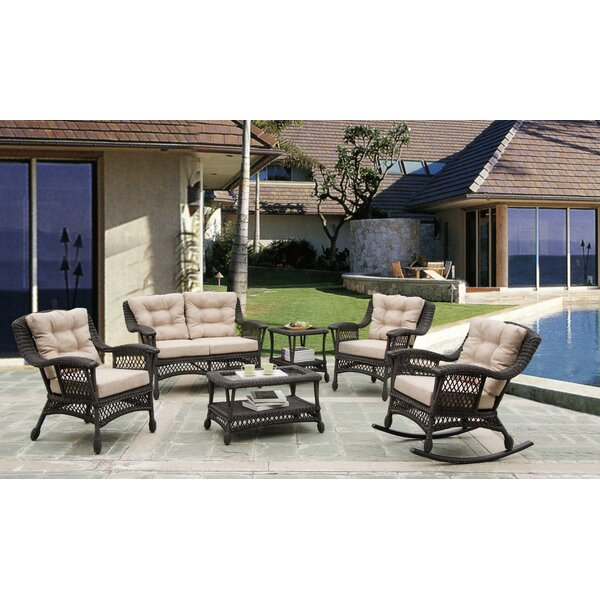 Procter 6 Piece Conversation Set with Cushions by Bungalow Rose