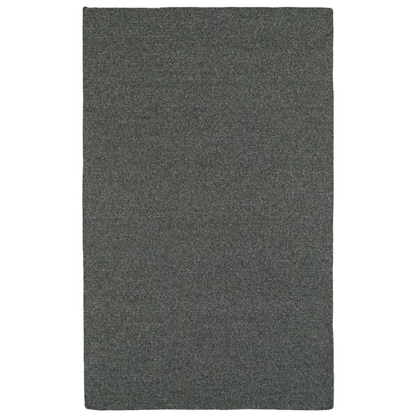 Dunbar Charcoal Indoor/Outdoor Area Rug by Beachcrest Home