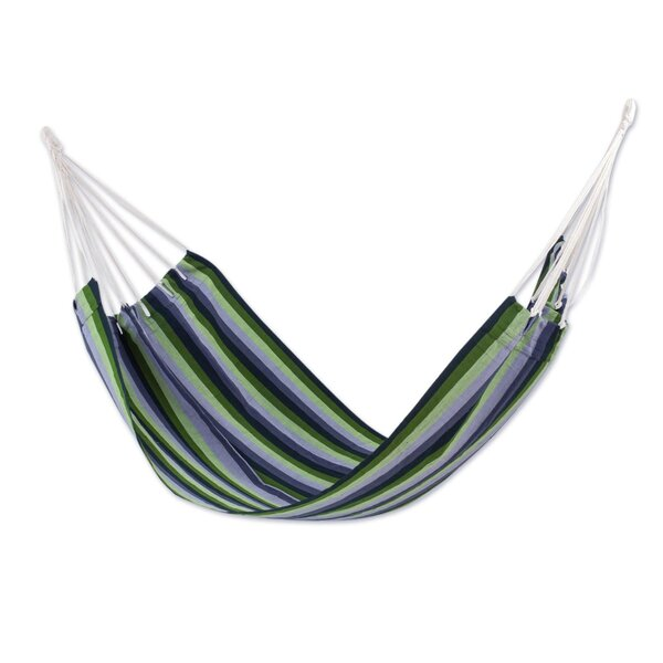 Guatemalan Single Polyester Tree Hammock by Novica