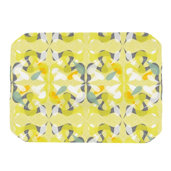 Spring Flourish Placemat by KESS InHouse
