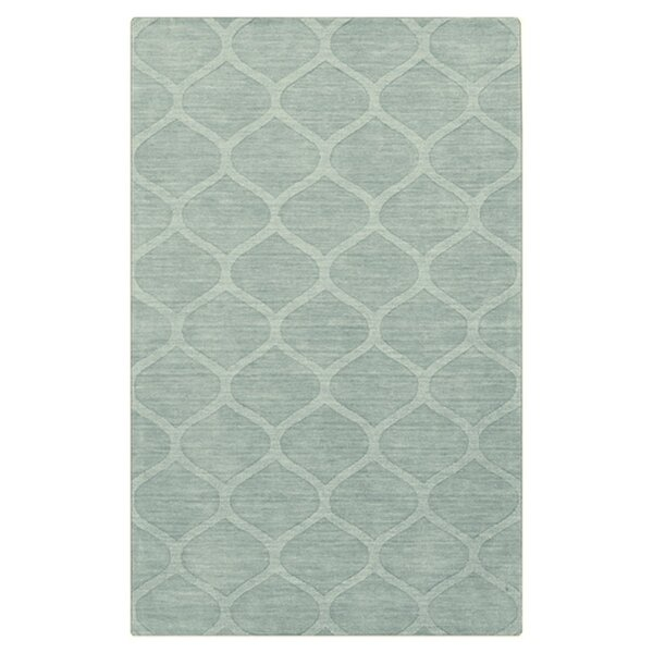 Loewen Hand Woven Wool Moss Area Rug by Darby Home Co