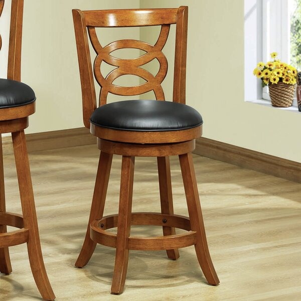 24 Swivel Bar Stool (Set of 2) by Monarch Specialties Inc.