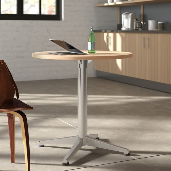 Workwell Round Pedestal Table by OlioDesigns OlioDesigns