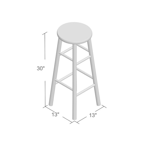 Wynyard 30 Bar Stool (Set of 2) by Beachcrest HomeWynyard 30 Bar Stool (Set of 2) by Beachcrest Home