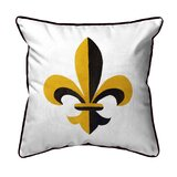 Fleur De Lis Throw Pillows | Wayfair