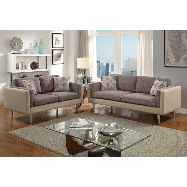 Vargo 2 Piece Living Room Set by George Oliver George Oliver