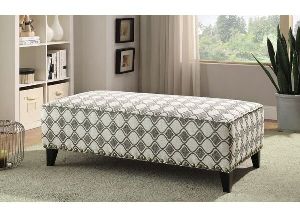 Cromer Ottoman by Canora Grey