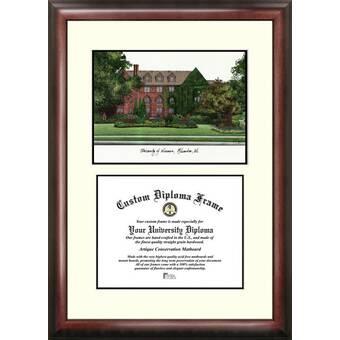 8.5 x 11 Campus Images SC994V Clemson University Scholar Diploma Frame
