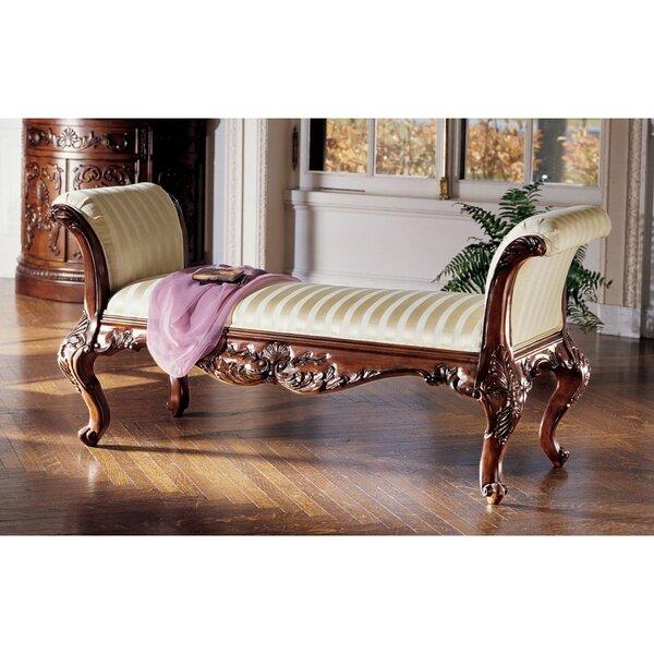 Maison Mehieu Hardwood Bench by Design Toscano Design Toscano