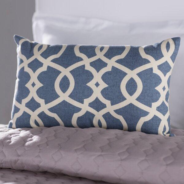 Brennan Cotton Lumbar Throw Pillow by Mistana