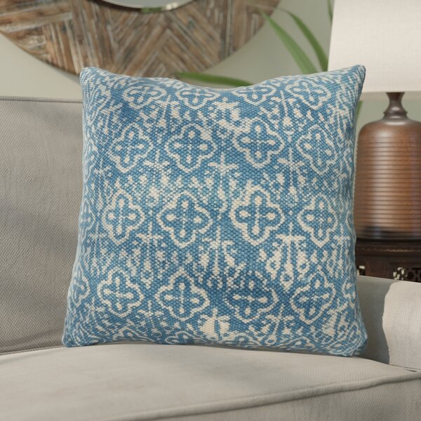 Rupert Cross Square Down Filled Throw Pillow by Bungalow Rose