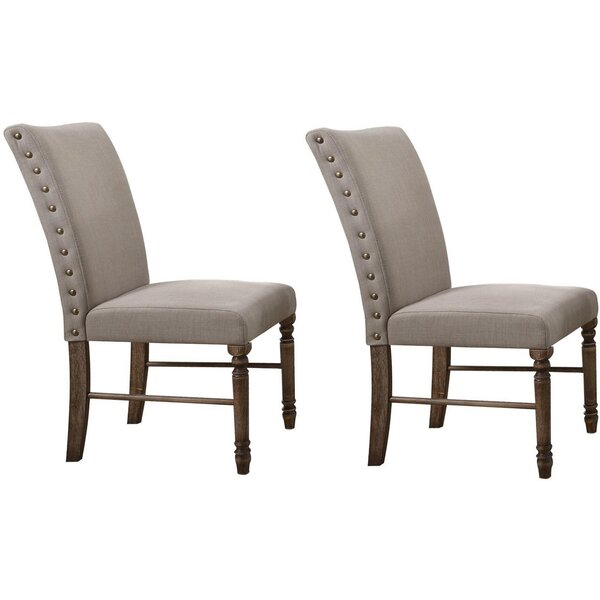 Twitchell Upholstered Dining Chair (Set of 2) by Gracie Oaks