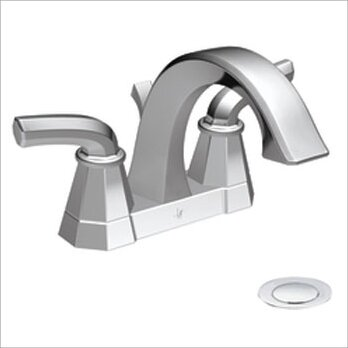 Felicity High Arc Centerset Bathroom Faucet by Moen