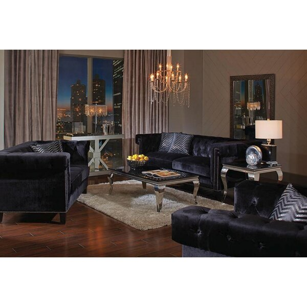 #1 Reinaldo 6 Piece Living Room Set By Everly Quinn Fresh