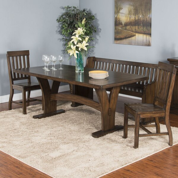 Ventrice Solid Wood Dining Table by Gracie Oaks