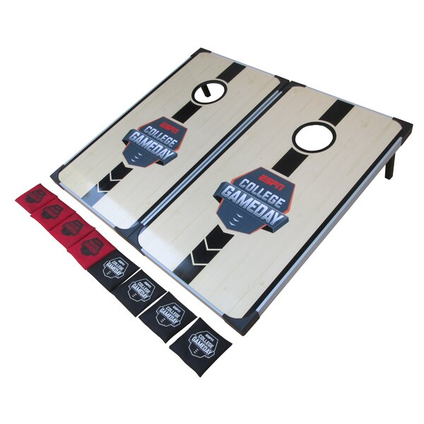 Wood Bean Bag Toss Set by ESPN College Game Day