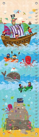 Swashbuckling Good Time Growth Chart by Oopsy Daisy