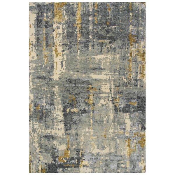Byrnes Wool Gray/Beige Rug