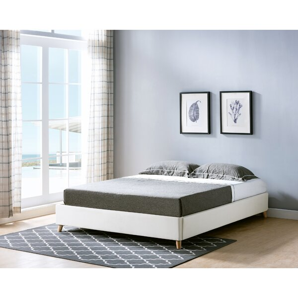 Goolsby Upholstered Platform Bed by Ebern Designs