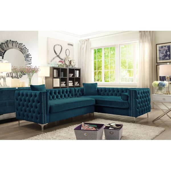 Alsafi Right Hand Facing Sectional by Everly Quinn Everly Quinn
