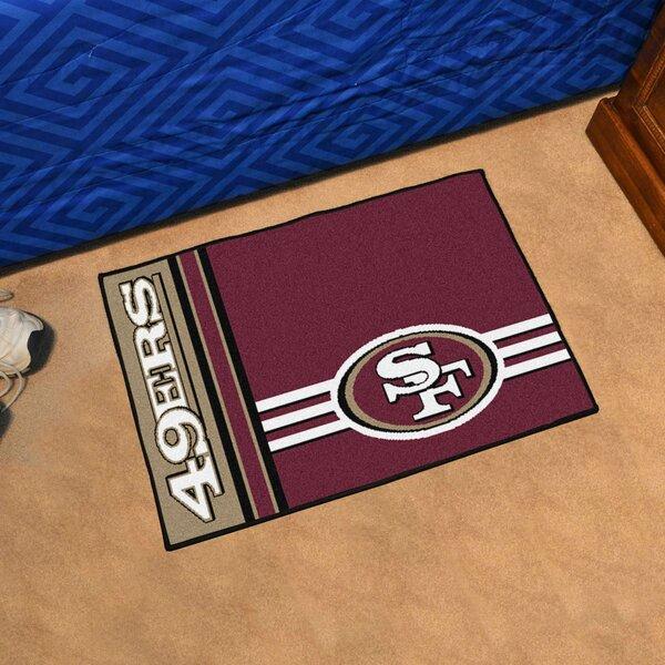 NFL San Francisco 49ers Starter Mat by FANMATS