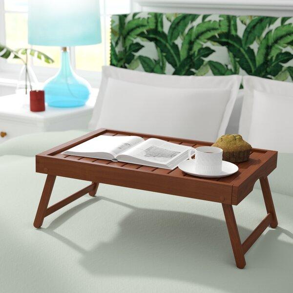 Hartnett Eco Acacia Wood Breakfast Tray by Bayou Breeze