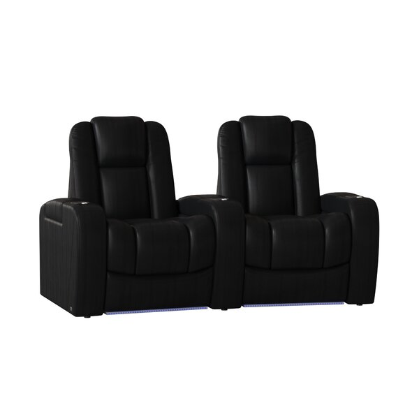 Grand HR Series Curved Home Theater Row Seating (Row Of 2) By Red Barrel Studio