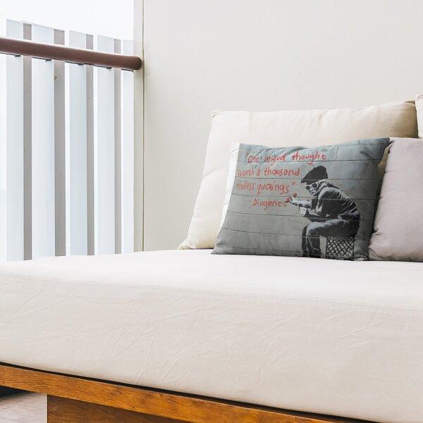 One Original Thought Indoor / Outdoor Geometric 14 Lumbar Pillow