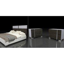 Kota Sorong Platform 3 Piece Bedroom Set by Wade Logan