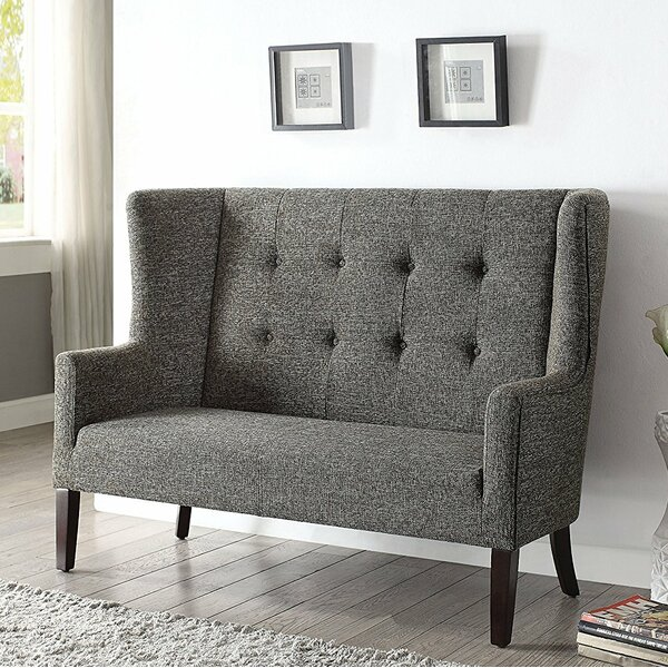 Long Ashton Settee Upholstered Bench by Gracie Oaks